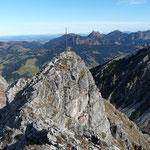 Der exponierte Gipfel des Ponten