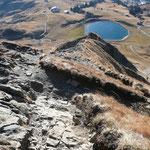 Blick vom Gipfel Richtung Damüls