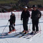 Horsti mit seinen Enkeln Berni und Michi