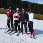 Hermann mit Vicky, Lisa, Lara