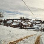 """sous la neige du """" bout de la côte"""""""