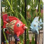 Maikammer, Fische mit Chinachili vom Nachbarstand
