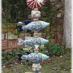 """Korallenfisch-Stele (Detailbilder, siehe unter """"Blog"""")"""