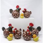 Hühnerfamilien