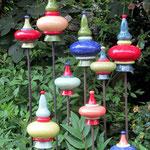 Ornamente für Stab, Stiel oder Zaun