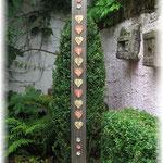 """Garten-Dekoschild """"Gartenliebe"""", Höhe 1.80m"""