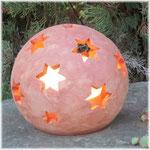 Galestro-Terracotta Leuchtkugel