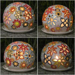 Leuchtkugel 4 Seiten Ansicht