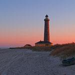 Skagen, Leuchtturm, Strand und Boot M.Stölting-Stark