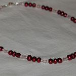 Perlen mit rosa Quarz