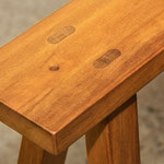 LA table sawhorse detail