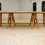 Elliptical LA table, 350 x 150