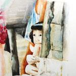 KH-M3-Mädchen: Mädchen im Slum