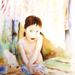 KH-K6-Kind: Junge im Slum