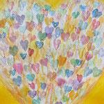 KH-H9 Herzen: Herz und Herz vereint zusammen, sucht in Gottes Herzen Ruh. Lasset eure Liebesflammen lodern auf den Heiland zu (N.L, Zinzendorff)