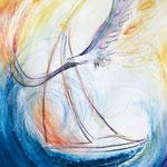 KH-A14-Adler: Frei wie ein Adler auf dem Wind dahin segeln.