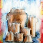 KH-W6-Kruege: Sich immer wieder wie ein leeres Gefäß vor Gott stellen und gefüllt werden bis zum Überfließen.