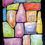 KH-L1-LebendigeSteine: Wenn sich unsere verschiedenen Gaben in der Anbetung verbinden, sind wir wie ein Altar aus lebendigen Steinen.
