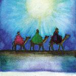 """KH-D2 Drei Weise: """"Wir haben seinen Stern gesehen und sind gekommen, ihn anzubeten."""" Matthäus 2,2"""
