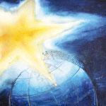 KH-N5 Stern: Das Volk, das im Dunkel lebt, sieht ein großes Licht. Über denen, die wohnen in der Finsternis leuchtet es hell. Jesaja 9,1