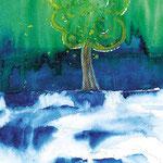 KH-W1-Psalm1: Glücklich der Mensch, der sich auf Gott verlässt. Der ist wie ein Baum, gepflanzt an den Wasserbächen. Psalm 1
