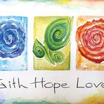 KH-FHL1-Faith, Hope,Love: So bleiben Glaube, Hoffnung, Liebe - diese drei. Die größte aber ist die Liebe!