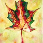 KH-K8-Kanada: Kanada hat viele ermutigende, anderen Nationen dienende Menschen in die Welt geschickt. Ihre Flagge - das Ahornblatt. Von den Blättern des Lebensbaums in der Bibel heißt es, dass sie zur Heilung der Nationen dienen. So seh ich Kanada.