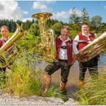 Tuba: Markus Kirchmann, Hans Gast und Michael Kanschat (v.l.n.r.)