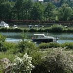Der Blick auf dem Main-Donau-Kanal