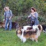 Bjarki, Balou, Timmy, Sammy und im Hintergrund Klaramaus