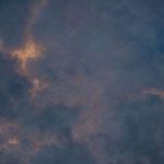 Keine besonderen Wolken, dafür aber tolles Licht...