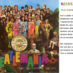 Flyer für das Beatlesprojekt des Jugendchors