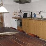 Wohnküche, Ferienwohnung 2 am Scheunentor