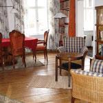 Wohnraum Ferienwohnung 1 im Haus