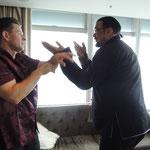 Markus Schinhammer und Steven Seagal in Hongkong 2017