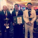 Atlantic City Simon Kook, Samuel Kwok und Markus Schinhammer mit Auszeichnungen