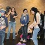 Kinder der 9. Klasse - Ausbildungszentrum für Sozialberufe Wielandgasse Graz