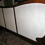 Zetel achterkand