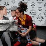 Moniquilla y el ladron de risas. G Ramírez Sansano Luna Negra Dance Theater