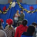 Lesung der Weihnachtsgeschichte