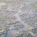 Der zugefrorene Main bei Schweinfurt, 11. Feb. 2012, Bild 3/4