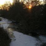 Der zugefrorene Main bei Schweinfurt, 11. Feb. 2012, Bild 4/4