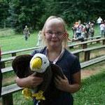 Carina und ihr Adler