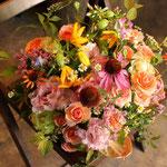 [AM1212]    税込3,740円(本体3400円)   夏の小花のアレンジ