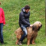 Katrin, Christian & Ansi (soll Anselm zum Pferd umgeschult werden?)