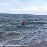 Schwimmen und Baden ist toll