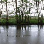 am nächsten Tag: Dauerregen