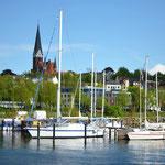 zurück im Flensburger Hafen