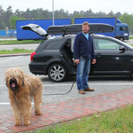 Autobahnraststätte (auf der Rücktour nach Hause)
