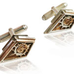 Custom Battlestar Galatica cufflinks.